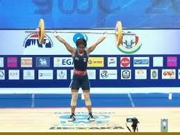 Konsam wins gold in Asian Youth & Junior Weightlifting Championships
