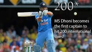 MS Dhoni becomes first Indian batsman to hit 200 sixes in ODIs
