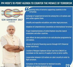 PM Modi presents 10-point action plan on counter terrorism for G-20 nations