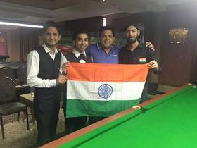 Pankaj Advani-led Indian team beat Pakistan to clinch Asian Snooker Championship