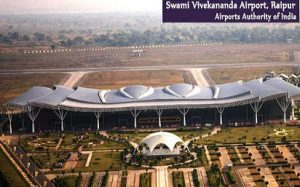Raipur Swami Vivekananda Airport ranked first in Customer Satisfaction Index Survey