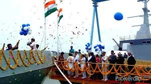Reliance Defence launches first two naval patrol vessels Shachi and Shruti