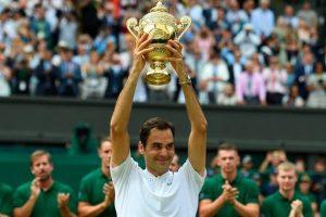 Roger Federer becomes oldest Wimbledon male champion: