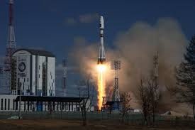 Russia's Soyuz rocket lifts off with 73 satellites from Kazakhstan