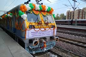 Suresh Prabhakar Prabhu inducts First DEMU Train with Solar powered Coaches into service of the Nation