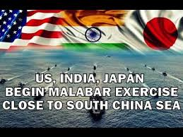 Trilateral Malabar exercise begins in chennai