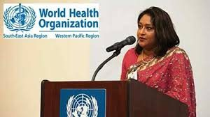 WHO appoints Saima Wazed as Goodwill Ambassador
