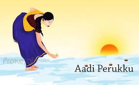 Aadi Perukku festival celebrated in Tamilnadu