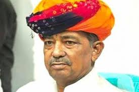 BJP MP from Ajmer and Former Union Minister Ajmer Sanwar Lal Jat passed away