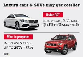 GST council approves hike in luxury car cess