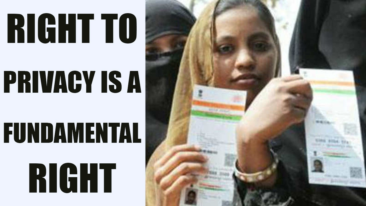 Right to Privacy as Fundamental Right