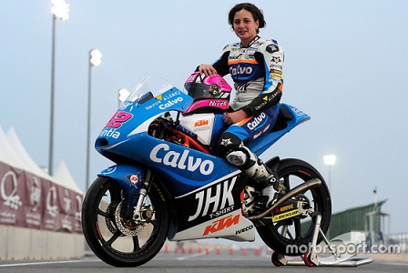 Ana Carrasco of Spain becomes 1st female biker to win a World Championship race