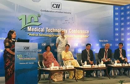 Anupriya Patel inaugurates 10th Medical Technology Conference in New Delhi