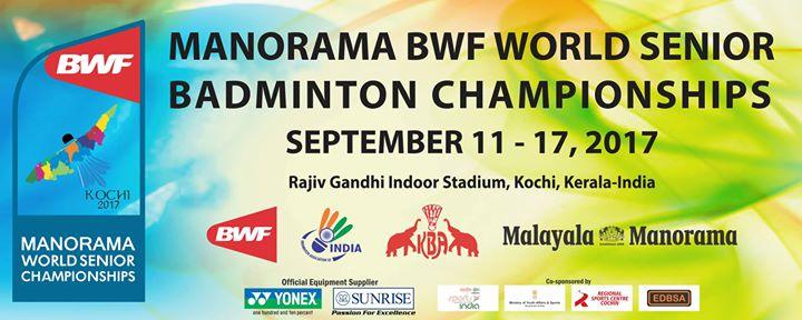 BWF World Senior Badminton Championships 2017
