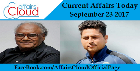 Current Affairs Today September 23 2017