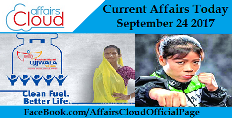 Current Affairs Today September 24 2017