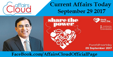 Current Affairs Today - September 29 2017