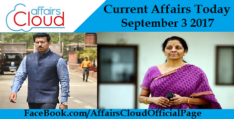 Current-Affairs-Today-september-3-2017