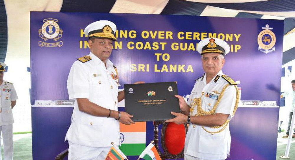 India hands over off-shore patrol vessel Varuna to Sri Lanka