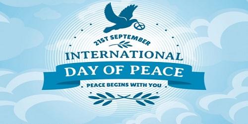 International Day of Peace-September 21 2017