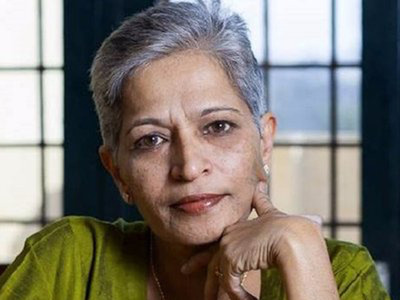 Journalist Gauri lankesh shot dead in Bengaluru