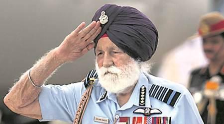 Marshal of the IAF and 1965 war hero Arjan Singh dies at 98