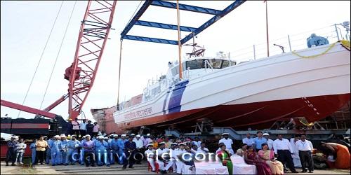 New interceptor boat V-409 launched