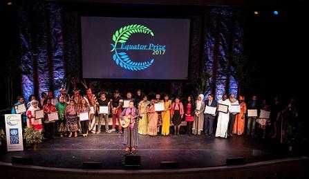 UN Equator Prize 2017