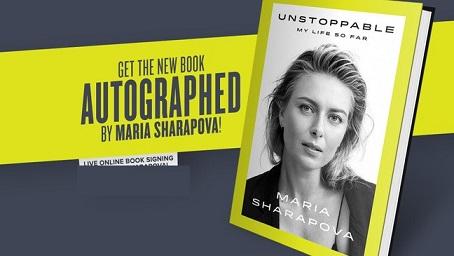 Unstoppable - My Life So Far,Book by Maria Sharapova