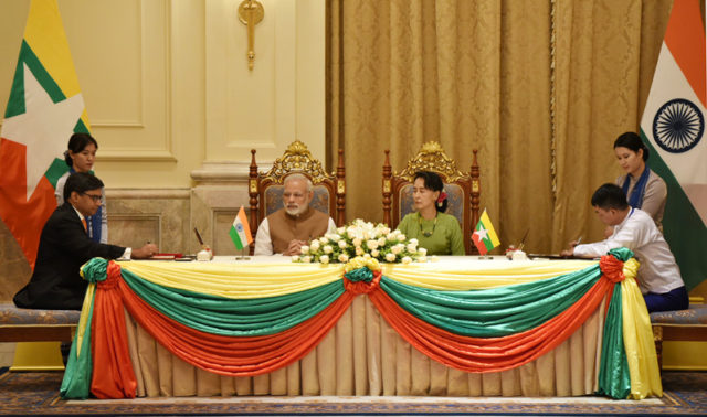 Visit of Prime Minister to Myanmar 2017