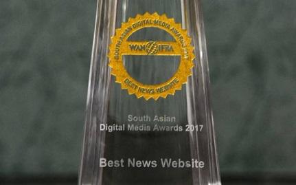 Wan-Ifra best news website award