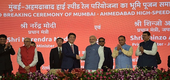 pm-modi-pm-abe-of-japan-lay-foundation-stone-for-india-s-first-high-speed-rail-project