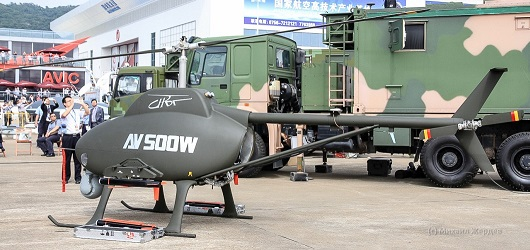 unmanned combat helicopter AV500W