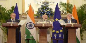 14thIndia-EU summit held in New Delhi
