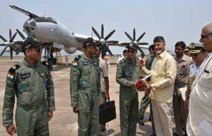 Chandrababu Naidu lays foundation stone for TU142M aircraft museum.jpg