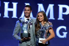 Cristiano Ronaldo and Lieke Martens win FIFA player-of-the-year awards