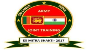 Mitra Shakti 2017: India-Sri Lanka Joint Military Exercise held in Pune