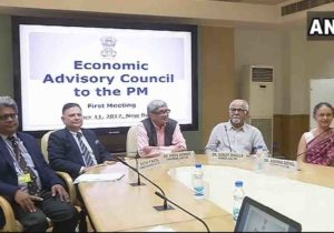 First Meeting of the Economic Advisory Council held in New Delhi
