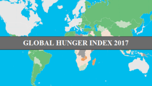 Global Hunger Index - India slips 3 positions to 100th among 119 nations
