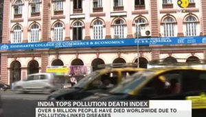 India tops list of pollution-linked deaths in world - Study by Lancet