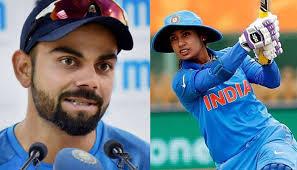 Mithali Raj, Virat Kohli top spot in ICC ODI rankings