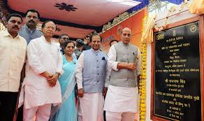 Rajnath Singh and Nitin Gadkari inaugurated sea route to Baratang & laid foundation stone for shipping projects in Andaman & Nicobar Islands