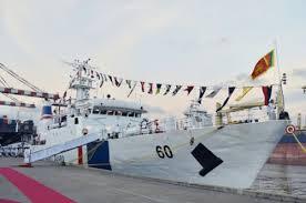 Sri Lanka Navy commissioned Coast Guard Ship Suraksha provided by India