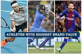 Virat Kohli ranked above Lionel Messi in Forbes most valuable brands among athletes;Federer tops list