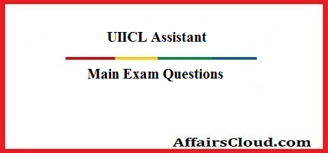 uiicl-assistant-main-exam-questions