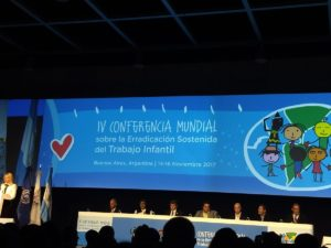 4th Global Conference on Sustained Eradication of Child Labour, Argentina