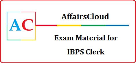 AC IBPS Clerk Page