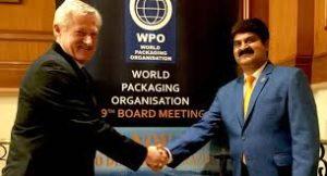 Chakravarthi appointed as ambassador of World Packaging Organisation
