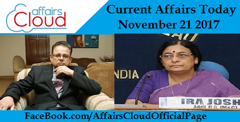 Current Affairs Today November 21 2017