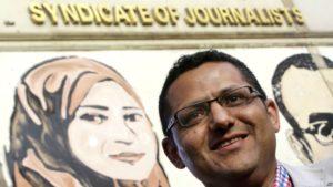 Egyptian journalist Khaled el-Balshy wins Nelson Mandela Innovation Award